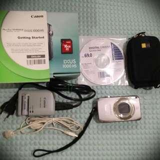 Canon Ixus 1000 HS Camera