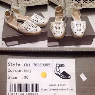 Charles N Keith White Shoes