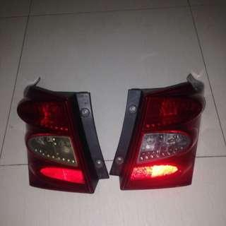 Lampu Belakang Honda Freed 2012