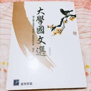 大學國文學 第四版