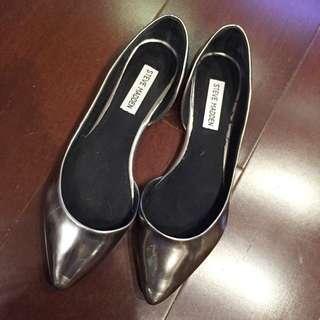 Steve Madden 銀色尖頭鞋 包鞋