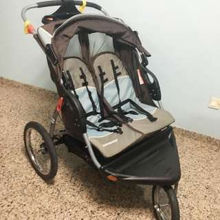 Double Stroller Baby Trend Jogger