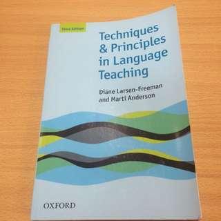 Techniques &Principles In Language Teaching