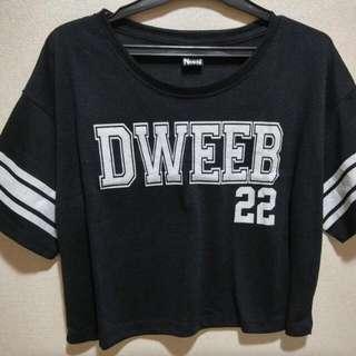 Dweep Oversize Crop Shirt