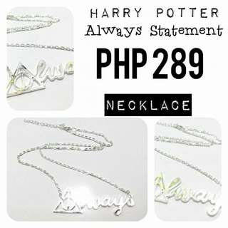 Necklace | Harry Potter: Always Statement