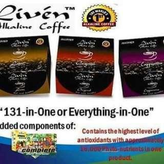 Livin Alkaline Coffee