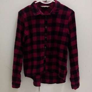 H&M Flannel Top