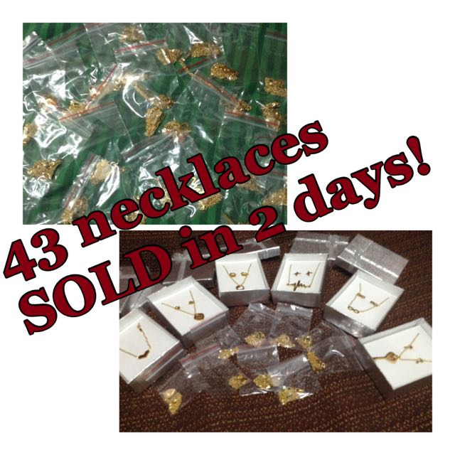 43 Necklaces Sold In Just 2 Days!!!!