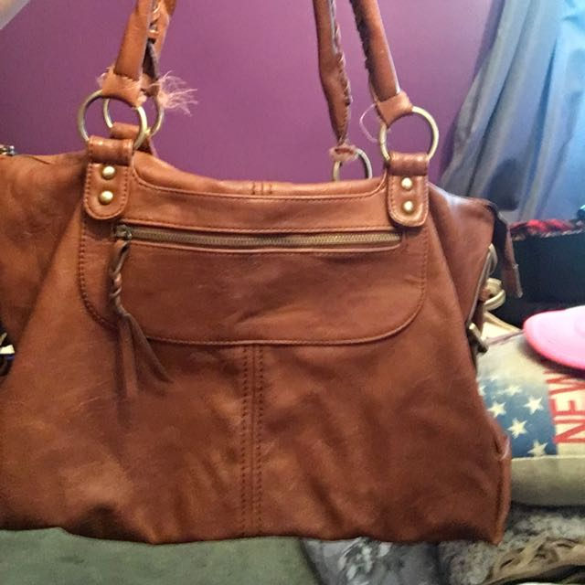 Aldo Brown Purse Super Cute For Fall