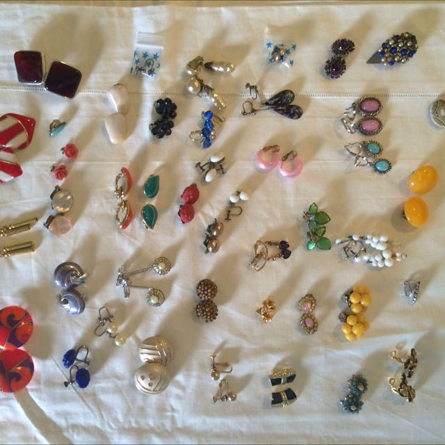 Assorted Clip On Earrings