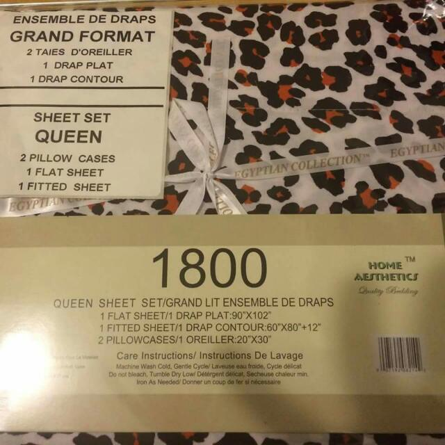 Bedsheets Size Double