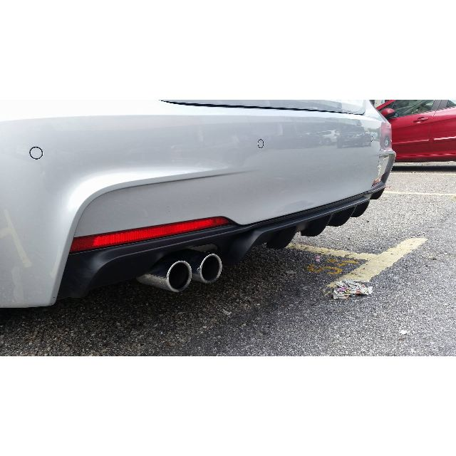 Bmw F30 M Performance Rear Diffuser Body Kit Auto Accessories On