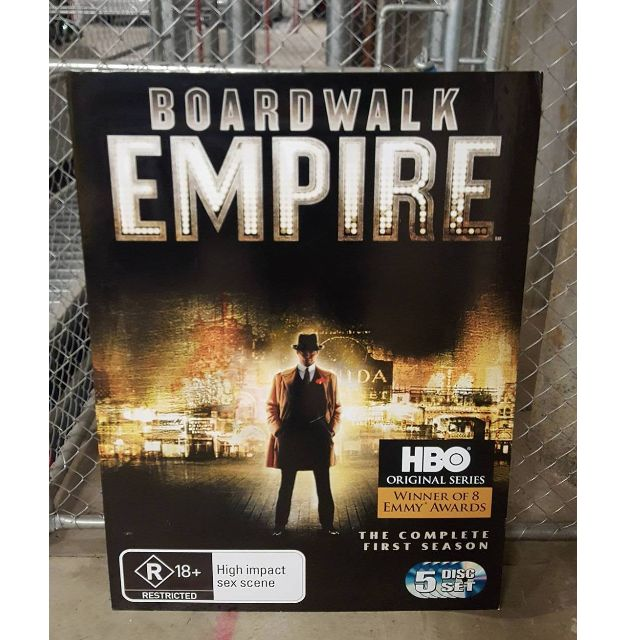 BOARDWALK EMPIRE - Large Bolster Card Feature Poster