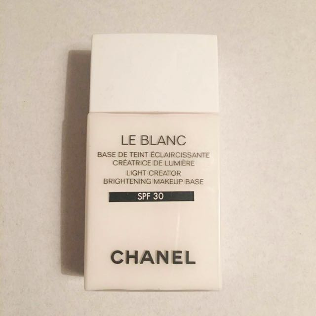 Chanel Le Blanc Light Creator Brightening Makeup Base SPF30 LYS 30ml