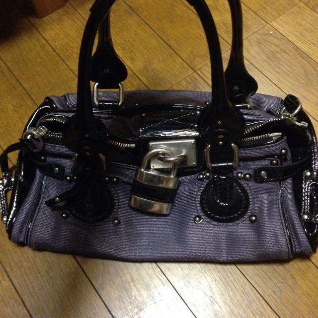 Chloe Purple Bag
