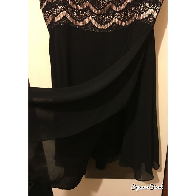 City Chic Lace Little Black Dress