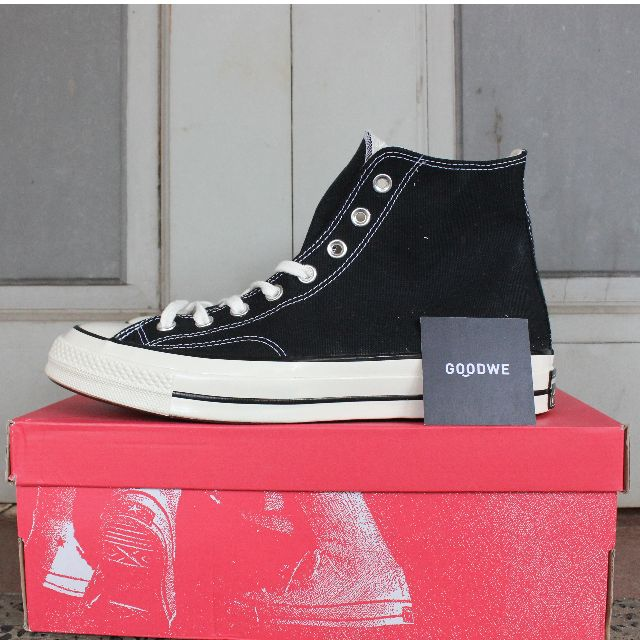 69788562a023 Converse Chuck Taylor All Star 70 s First String Black White