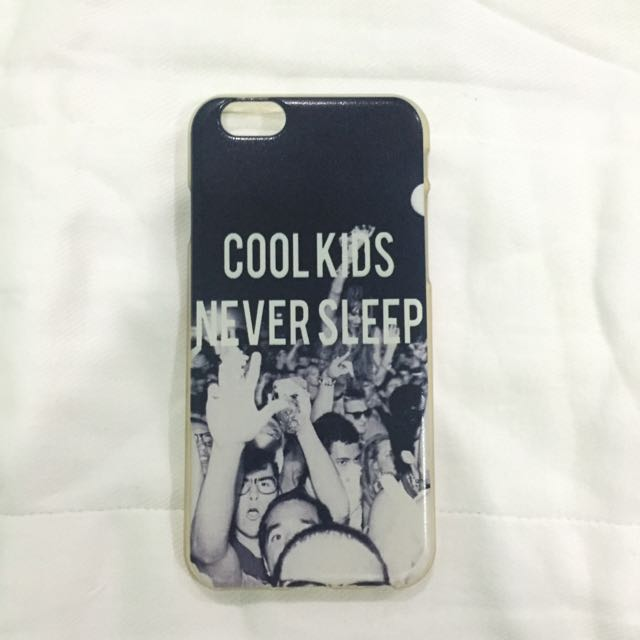 COOL Kids Never Sleep iPhone6 Jelly Case