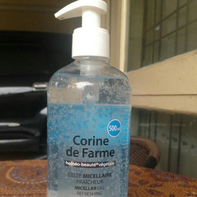corine de farme  micellar gel refreshing