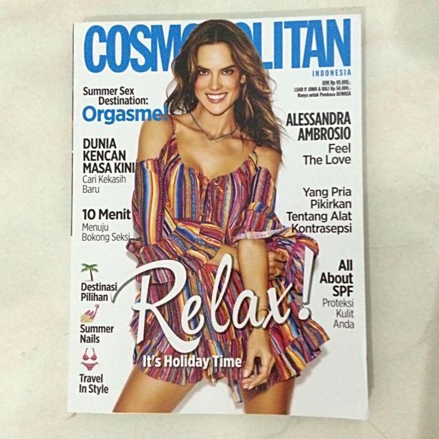 Cosmopolitan Edisi Juni'16