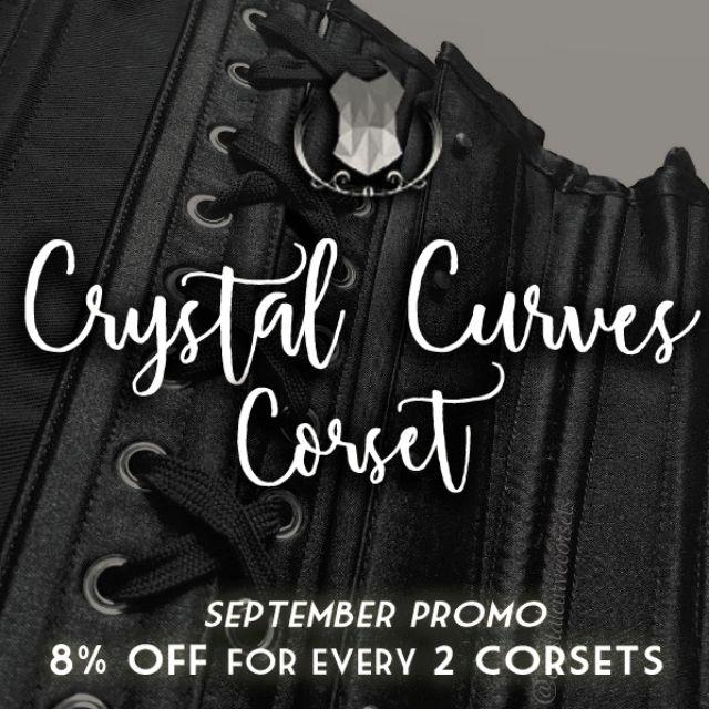 Crystal Curves Corset