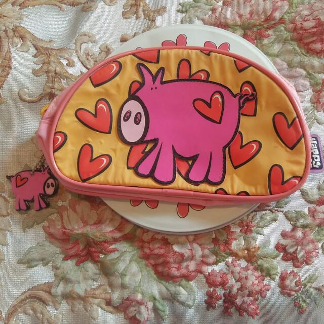 Dompet/Pouch Happy House Pig