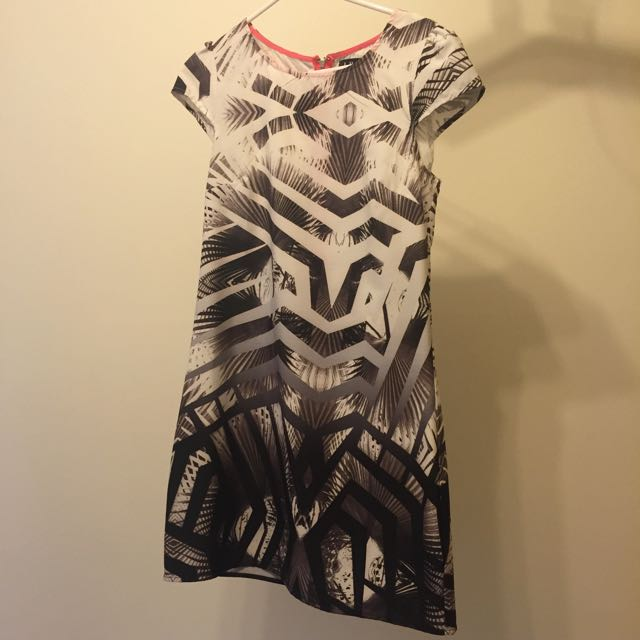 DOTTI Print Dress