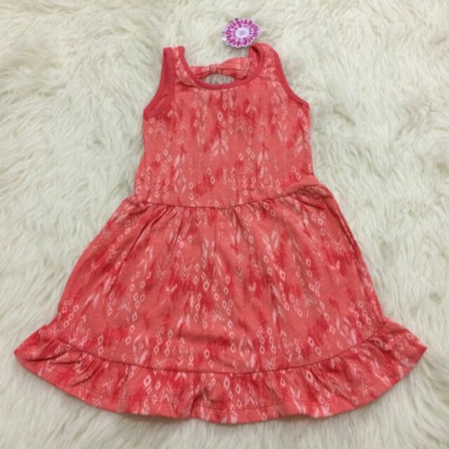 Dress Anak Pita Flower Kids