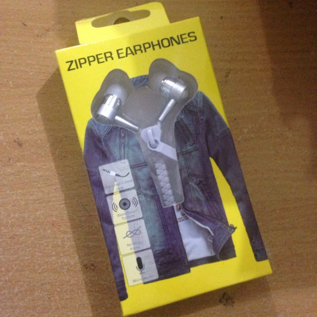 Earphone Zipper