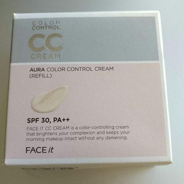 Face Shop CC Cream Refill