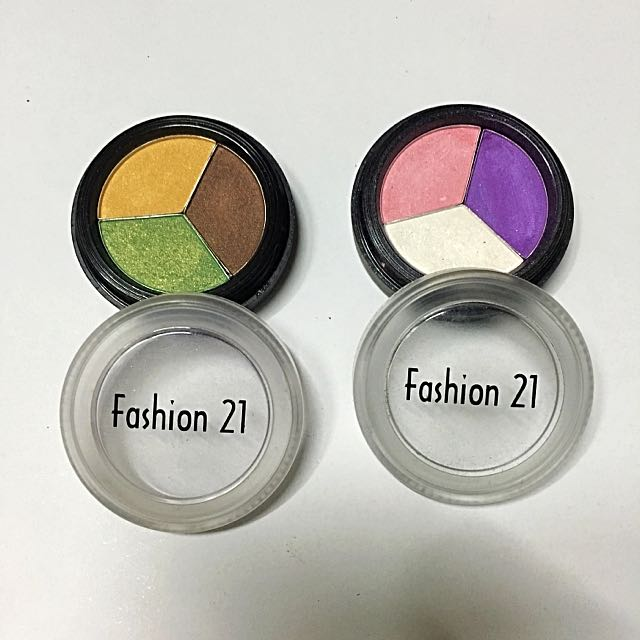 Fashion 21 Eyeshadow Trio.