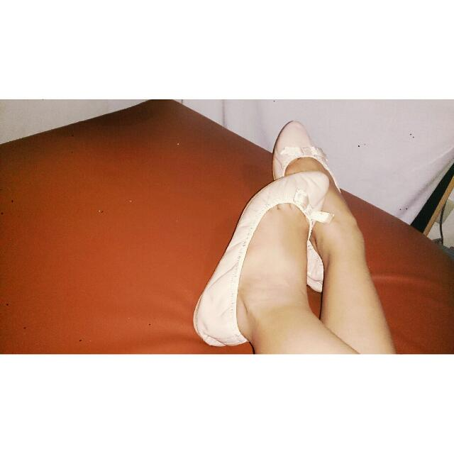 Flat Doll Shoes (Zara Brand)