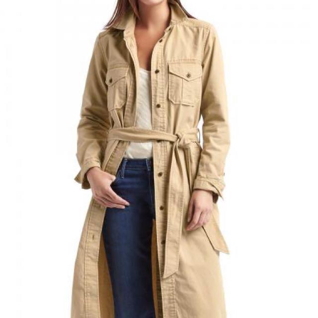 全新專櫃品牌Gap風衣外套