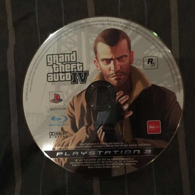 Grand Theft Auto 5 For PlayStation 3.