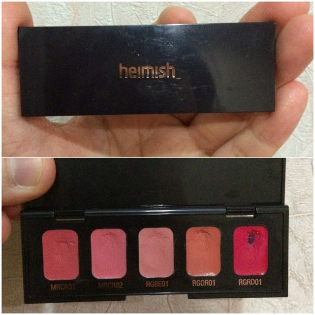 Heimish Lip Palette Sample Kit #Preloved