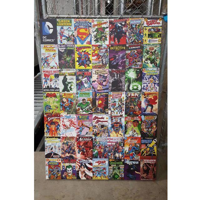 HUGE DC COMICS CANVAS 60 X 80 CM - PERFECT CONDITION