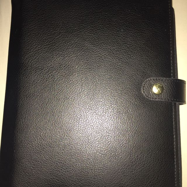 Kikkik K Leather Planner