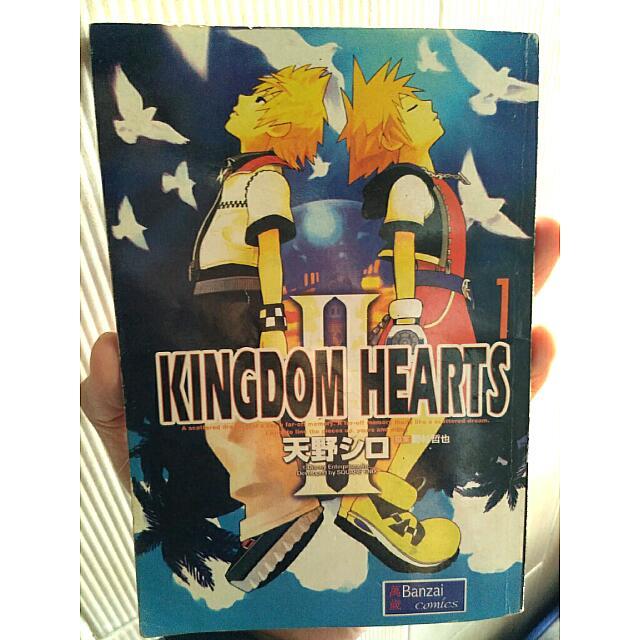Kingdom Hearts Comic Book [Rare Item]