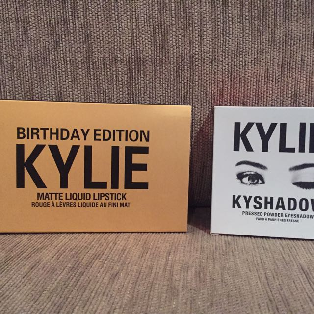 Kylie Cosmetics Mini Matte And Eye Shadows