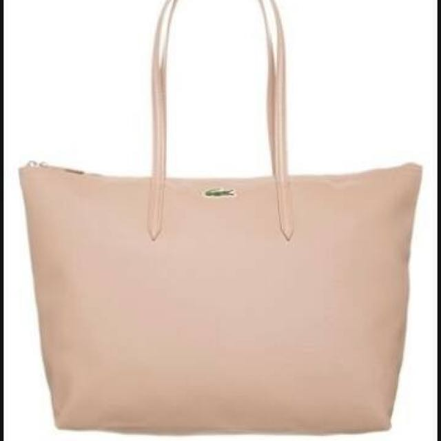 Large Lacoste Tote Bag