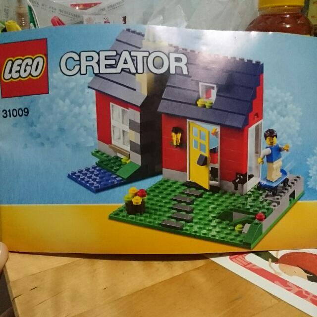 Lego Instruction Book 31009 Creator Toys Games Bricks