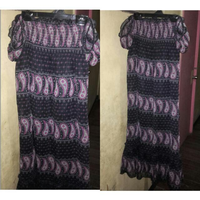REPRICED!100php Maxi Dress