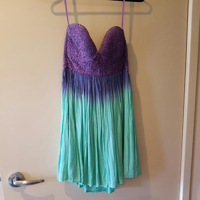 Ombre Dress Size 8