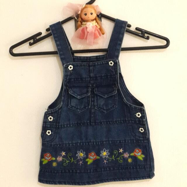 Overall Jeans For Baby Girl Merk Ginger