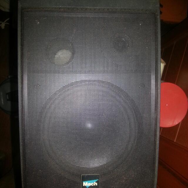 Passive Subwoofer And 2 Speaker Set.