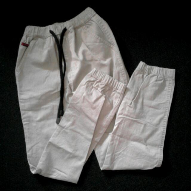 Pre❤ Creme Jogger Pants