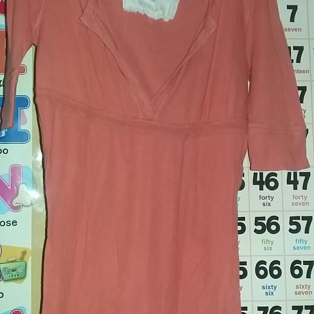 Pre Loved 3/4 Blouse  (Negotiable)