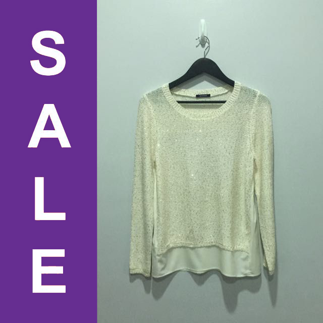 Promod Sequined Sweater (REPRICED)