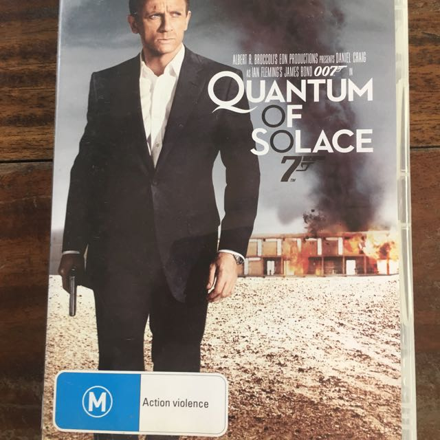 Quantum Of Solace DVD