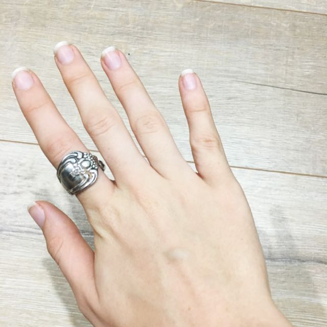 'Recycled Spoon' Ring
